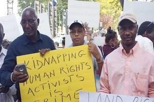 La diaspora en pleine action devant le Si�ge des Nations-Unies [PhotoReportage]