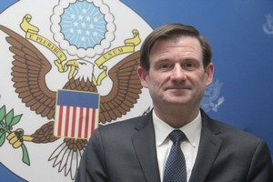 Le Sous-secrétaire d'Etat US chargé des affaires politiques des USA à Nouakchott