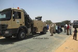 En un seul jour, trois gros porteurs tombent sur la route Nouakchott-Rosso