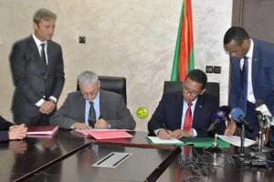 Signature de plusieurs conventions entre notre pays et la Société Total