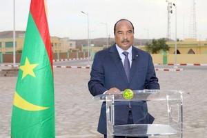 Mauritanie: Ould Abdel Aziz en visite dans le pays, juste avant la fin de son mandat