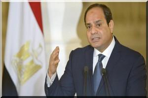 Le prأ©sident أ©gyptien ratifie la rأ©trocession de deux أ®lots أ Ryad