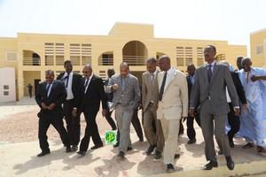 Nouakchott : El- Mina soumet plusieurs doléances au président mauritanien