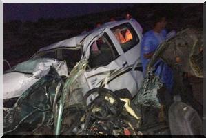 Décès sur place de six passagers dans un accident routier