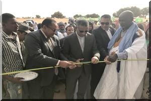 Trarza: Inauguration du collège du regroupement d'Oumou Al Qura par le Directeur Général de TADAMOUN [PhotoReportage]
