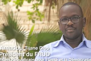 Vidéo. Interview. Amadou Tijani Diop, Président du FRUD, ancien vice-président de IRA