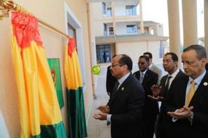 Le Président de la République inaugure le siège de l'ambassade à Addis-Abeba
