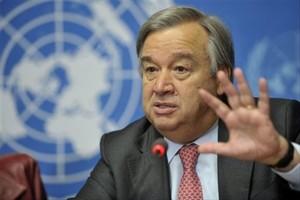 Climat : le patron de l'ONU appelle à