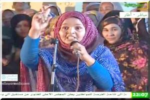 Buzz/Vidéo : Khadija Mint Kleib expose sans complaisance les vrais problèmes des atarois