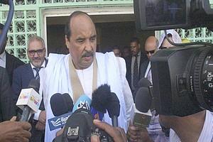 Mauritanie : le président O. Abdel Aziz présent à Nouadhibou pour le lancement de la campagne du candidat Ghazouani