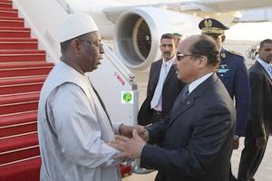 Le Président de la République du Sénégal achève sa visite de travail en Mauritanie