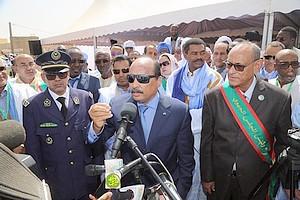 Mauritanie : Le président Aziz promet de poursuivre ses chantiers