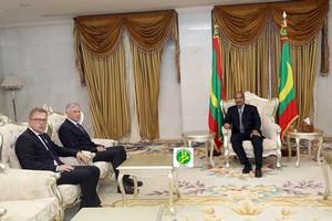 Köhler à Nouakchott : L'envoyé spécial de l'ONU pour le Sahara reçu par le président Aziz