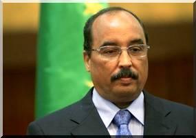 Mauritanie : le 'dernier mandat' d'Ould Abdel Aziz - aziz_abdel_drapeau