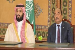 Communiqué conjoint sanctionnant la visite de travail et d'amitié de Mohamed Ben Selmane