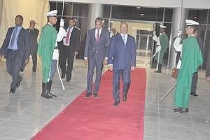 Le Président de la République se rend à Abou Dhabi