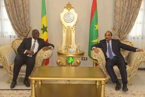 Communiqué final de la visite du Président sénégalais chez son homologue mauritanien [PhotoReportage]