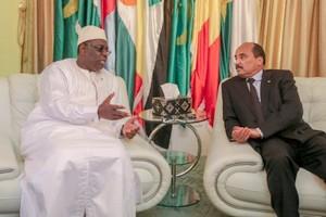 Sénégal-Mauritanie: un nouvel entretien téléphonique au sommet