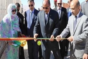 Nouadhibou : pose de la première pierre de la station de dessalement par le président Aziz