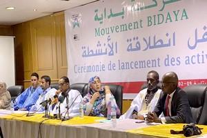Cérémonie de lancement des activités du mouvement politique