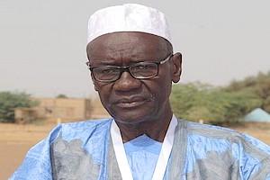 Lettre du Président Balas au Président de la république Mohamed ould Abdel Aziz