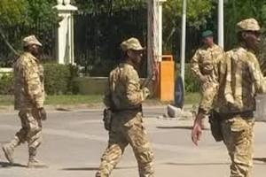 20 véhicules relevant du BASEP quittent Akjoujt en direction de Nouakchott