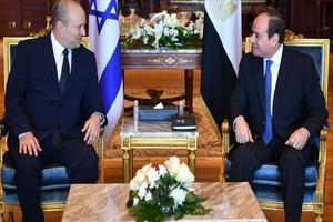 Israël-Palestine: la relance du processus de paix au cœur de la rencontre Bennett-al-Sissi