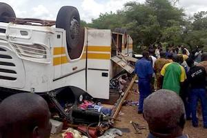 Mauritanie : Le bilan de l'accident d'Aghchorguit monte à 11 morts