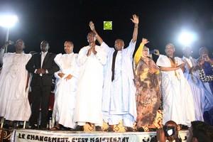 Le candidat Biram Dah Abeid lance sa campagne électorale à partir du Ksar