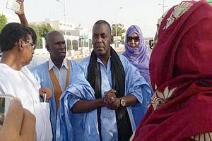 Biram Ould Abeidi rend visite aux sénateurs en sit-in (photos)