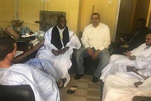 Biram manifeste son soutien à la presse