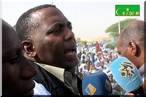 Biram à sa sortie de prison : Je promets aux Mauritaniens une lutte sans merci contre le régime de Ould Abdel Aziz [Vidéo & PhotoReportage]