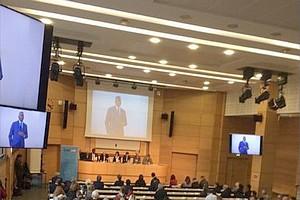 Correspondance de Biram Dah à la séance de la Commission Nationale Consultative des Droits de l'Homme