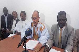 Le collectif des avocats de Biram O. Abeid : « il y a une volonté politique derrière l'emprisonnement de notre client »