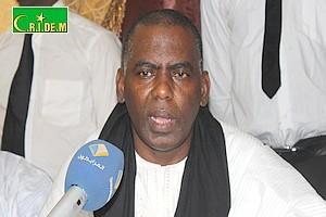 Lettre de Biram Dah Abeid aux dirigeants de l'opposition mauritanienne