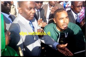 Nouakchott : Plusieurs centaines de personnes à l'accueil de Biram O. Abeid