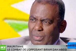 Vidéo. Biram Dah Adeid sur RT France: