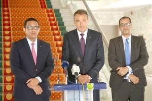 Le Président de la République reçoit l'Administrateur Directeur Général de la Société British Petrolum