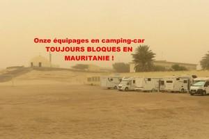 Quand ces camping-caristes pourront-ils rentrer de Mauritanie ?