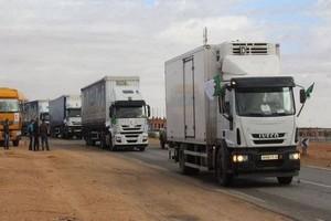 Départ de la 3ème caravane commerciale algérienne vers Nouakchott