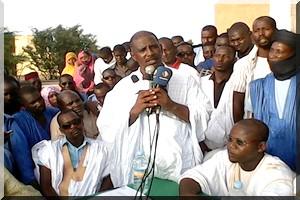 Caravane sur le problème foncier en Mauritanie