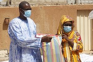 Insertion professionnelle à Dar-Naim : Caritas Mauritanie livre des outils de production à 13 jeunes mauritaniens
