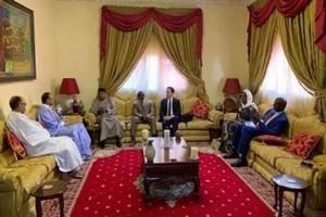 Le représentant spécial des Nations Unies rencontre le candidat Ould Boubacar