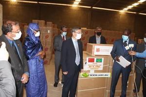 (COVID-19) La Mauritanie reçoit un troisième don des fondations chinoises Jack Ma et Alibaba