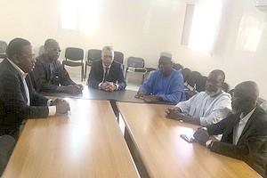 Le président de la CNDH reçoit l'Association Mauritanienne pour l'Eradication de l'Esclavage et ses Séquelles