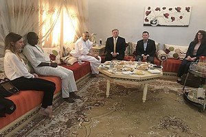 Une délégation du Département d'Etat américain rend visite au président de la CNDH