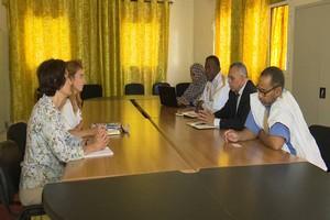 Mauritanie-presidentielle : Réunion entre la CNDH et une mission de l'UE