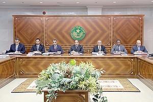 Communiqué du Conseil des Ministres du Jeudi 15 Novembre 2018