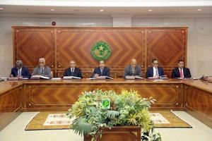 Communiqué du Conseil des Ministres du Jeudi 12 Octobre 2017