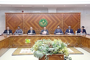 Communiqué du Conseil des Ministres du Jeudi 08 Novembre 2018